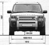 Disco 3 - vadný motor uzávěrky zadního diferenciálu - CZECH LAND